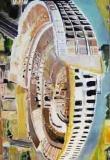 4. 'Colosseum #2', oil on canvas, 170 x 110 cm., 2007