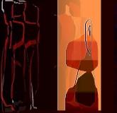 10. 'Leaving', winpaint, 2004