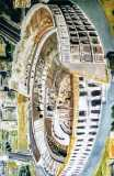 Colosseo #2, olio su tela, 170 x 110 cm., 2007