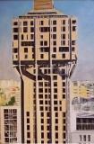 'Torre Velasca', acrilico e olio su tela, 170 x 110 cm., 2007