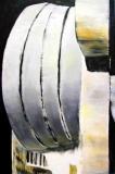 'Gugghenheim', acrilico e olio su tela, 120 x 80 cm., 2006