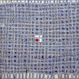 'Isolation', mista su tela, 80 x 80 cm., 2015