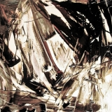 S.T., mista su plastica applicata su tela, 50 x 50 cm., 2009