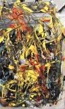 'Carosello', acrilico su tela, 25 x 50 cm., 2005