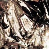 'S.T.', mista su plastica applicata su tela, 50 x 50 cm., 2009