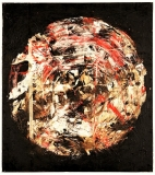 'brave new world', mista su tela, 80 x 90 cm., 2005