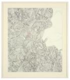 'Senza titolo #5', penna su carta spagnola, 45 x 55 cm., 2006