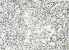 'Origene', penna su carta, 21 x 30 cm., 2005