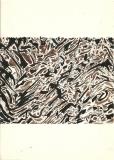 'Quello che disse il tuono', china e pennarello su carta, 18 x 25 cm. ca, 2004