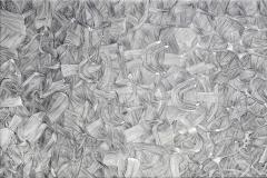 'Senza titolo #24', penna su carta spagnola, 112 x 80 cm. ca, 2015