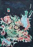 'Senza titolo', penna e pennarelli su carta, 21 x 29 cm., 2006