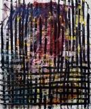 'Texture', acrylic on canvas, 120 x 100 cm., 2004