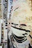 3. 'Colosseum (interior), oil, acrylic and pen on canvas, 170 x 110 cm., 2007