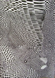 1 'Matrix #2', pen on paper, 21 x 29 cm., 2008 – Private collection