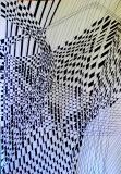 5 Matrix #35', pen on paper, 21 x 29 cm., 2015