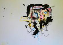 'Fake basq', felt-tip pen and ink on paper, 21 x 29 cm., 2006