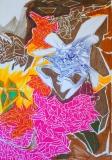 'Untitled coloured', felt-tip pen and pen on paper, 21 x 29 cm., 2006