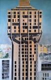 Torre Velasca, acrilico e olio su tela, 170 x 110 cm., 2007