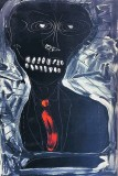 'Otello', acrilico su tela, 40 x 60 cm., 2017