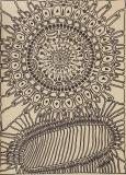 'Battaglia tra cellule', pennarello su carta, 50 x 70 cm., 2017