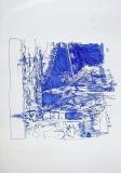 'Budapest inclinata', penna su carta, 21 x 29 cm., 2006