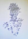 'Napoleonte', penna su carta, 21 x 29 cm., 2004